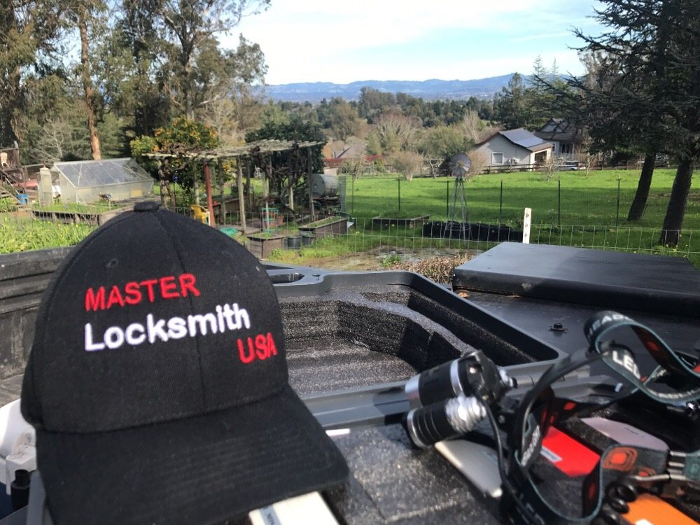 Master Locksmith Hat and Equipment